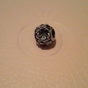 Authentic Pandora Mystic Floral Charm!